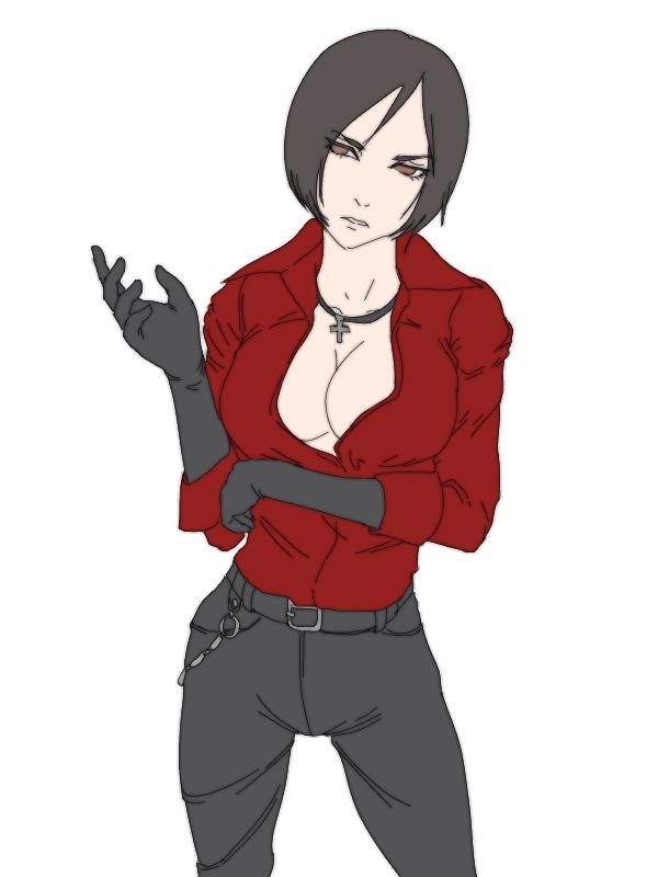 Characters: Human - Page 2 Ada_by_tamamonomae1112-db9dnse