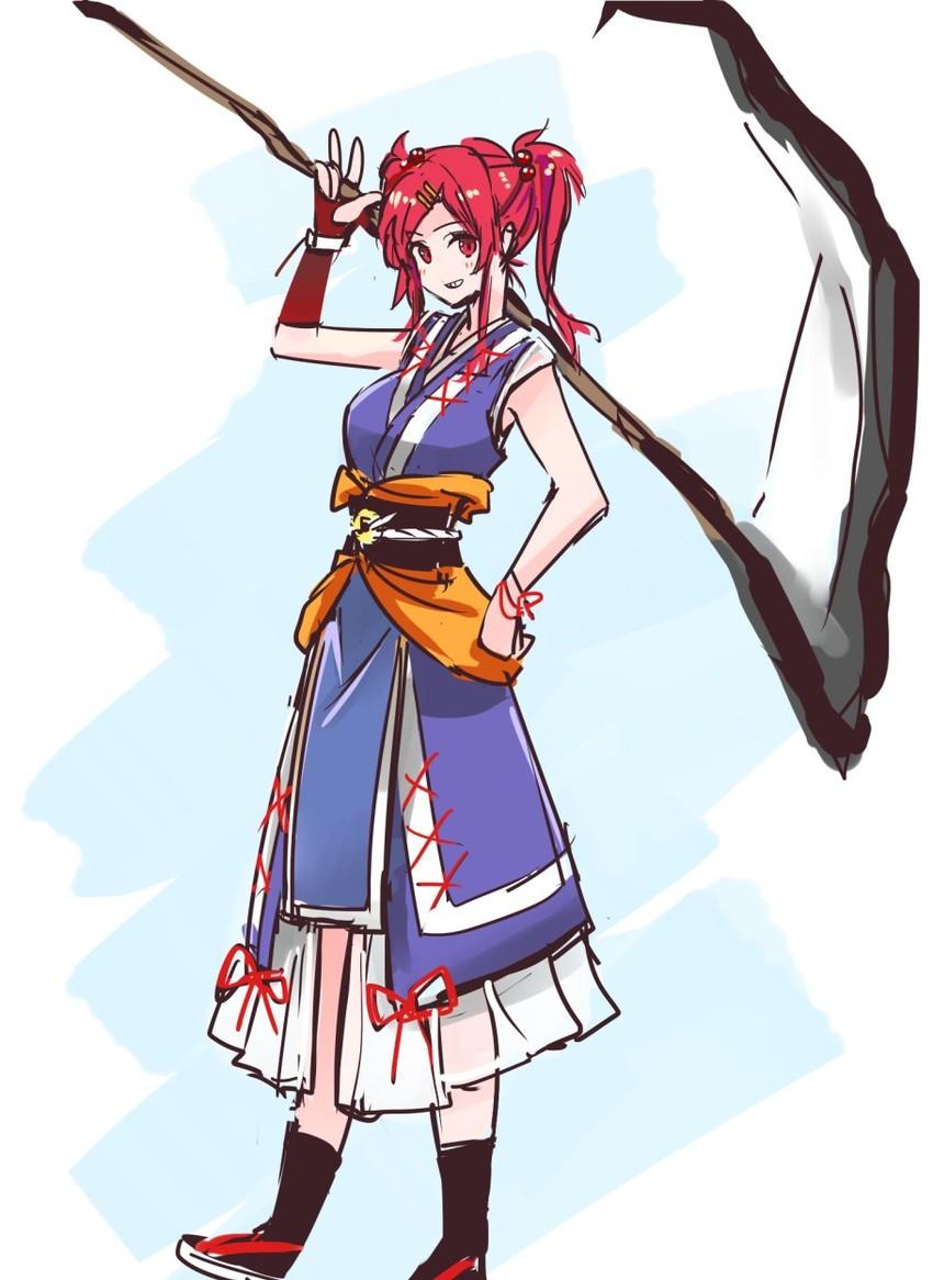 Characters: Human - Page 3 __onozuka_komachi_touhou_drawn_by_mappe_778exceed__by_tamamonomae1112-dbrk8li