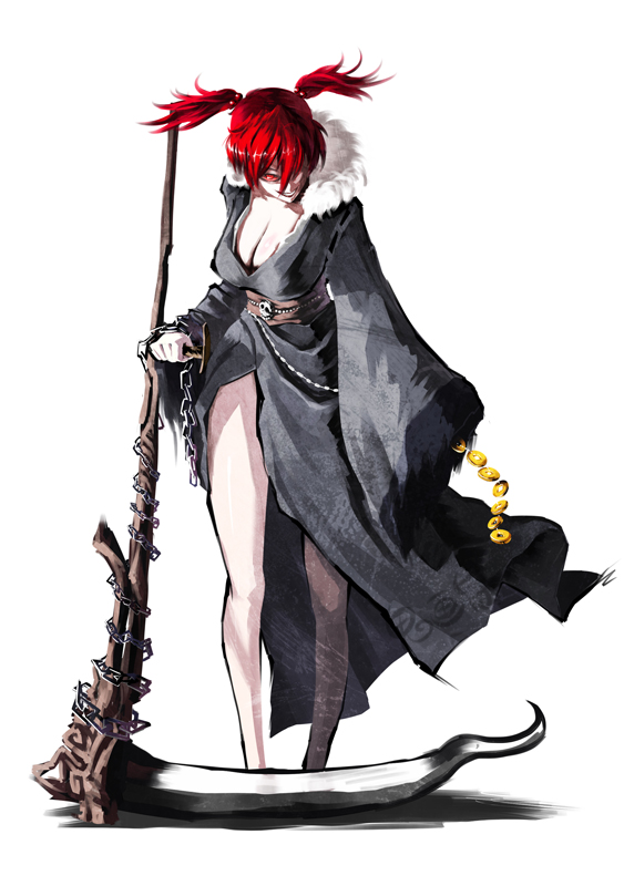 Characters: Human - Page 3 __onozuka_komachi_touhou_drawn_by_ghostzxt__cc88e2_by_tamamonomae1112-dbrk9r8