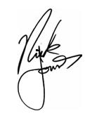Firma De Nick Jonas by LoveStoryEditions2