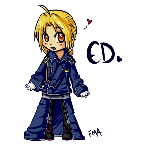 how to draw edward elric