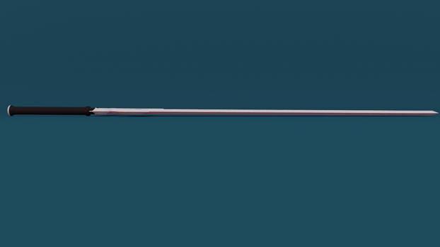 SAO: Kirito's Sword (Made in Blender) [view 6]