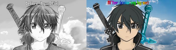 Awesome Kirito Drawing!