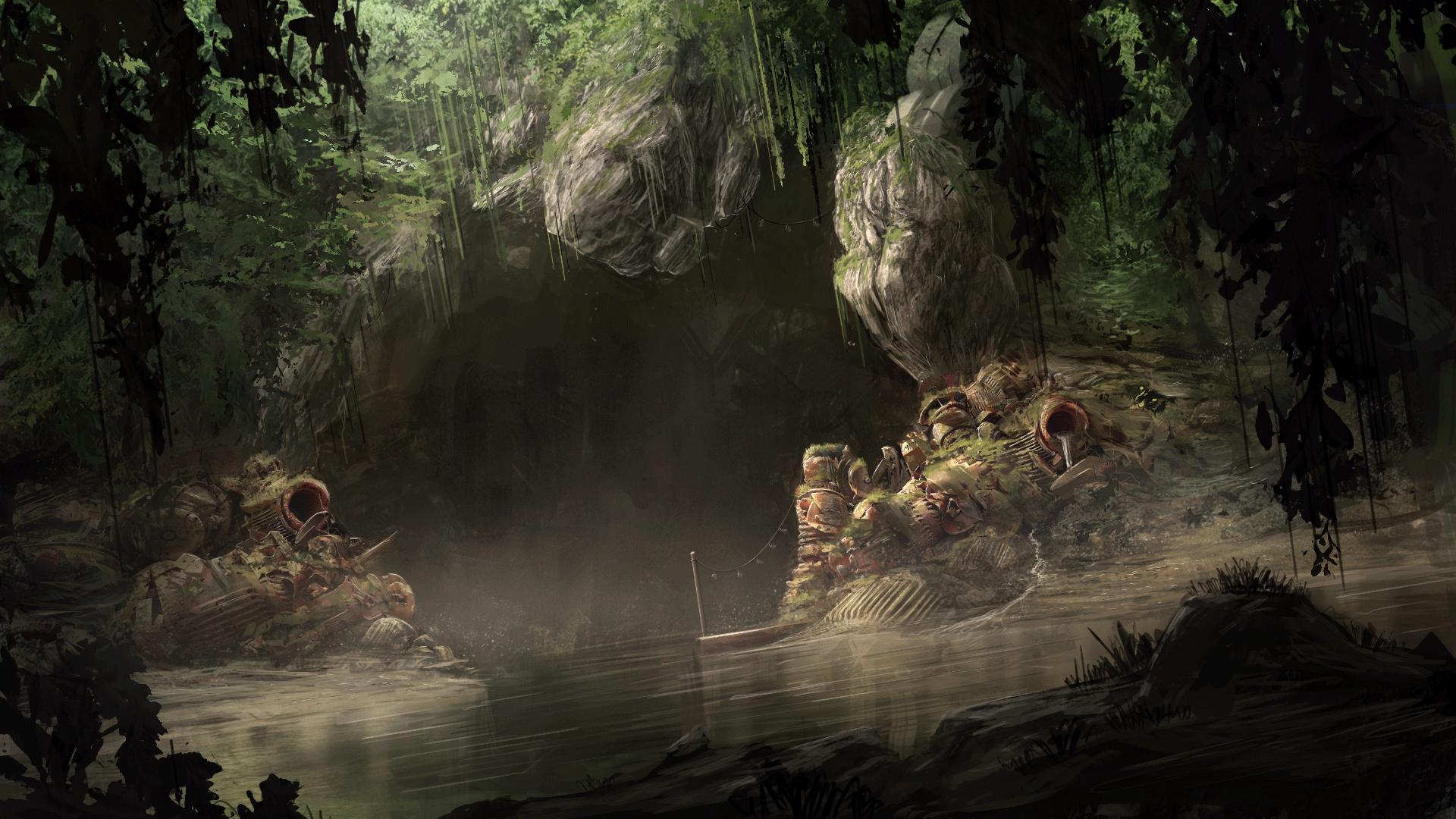 Smuggler's Cave by TomPrante