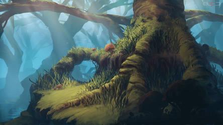 Swamp Tree by TomPrante