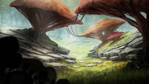 Mushroom Land by TomPrante