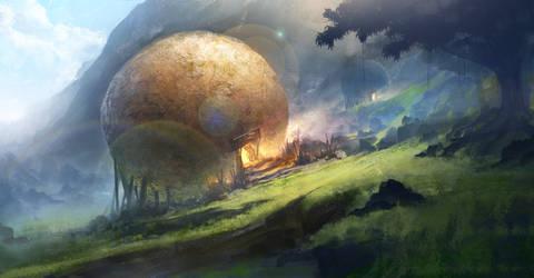 Giant Rock Ball