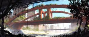 Red-Bridge by TomPrante