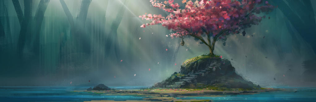Cherry Blossom by TomPrante