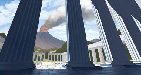 Volcano by TomPrante