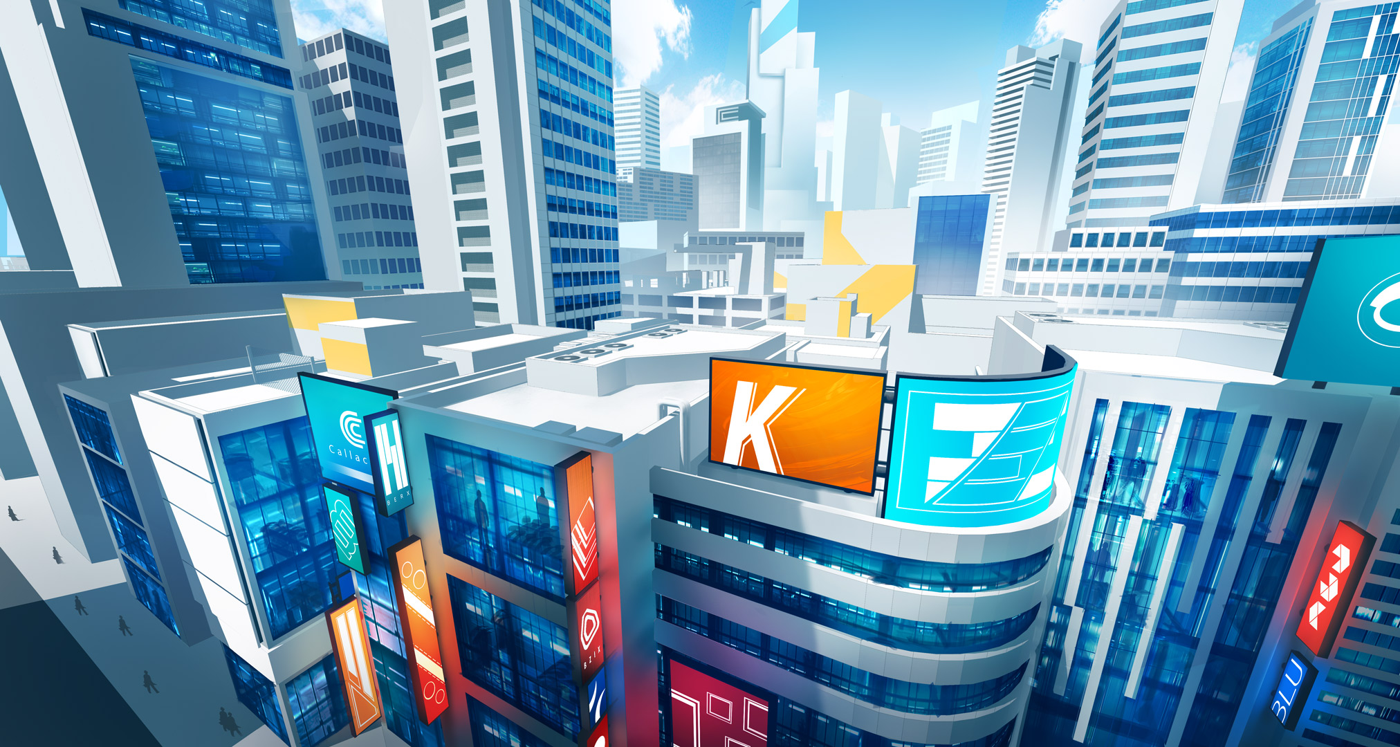 Downtown (Mirrors Edge Inspired)