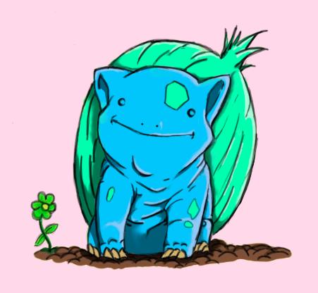 Bulbasaur by PrinceofOrlais