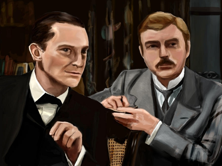 GALERIE GOODIES - Page 2 Holmes_and_watson_by_cavatappimonster-d37mpcb