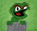 A Grinnin' Grouch