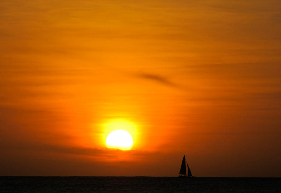 Sail Away Into The Sunset V by rmbastey