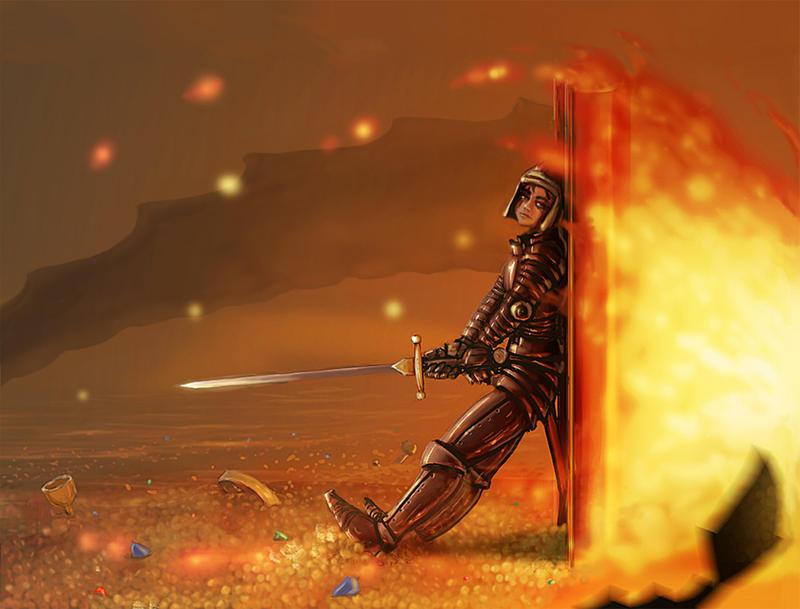 Unyielding Defense by Devilfactory