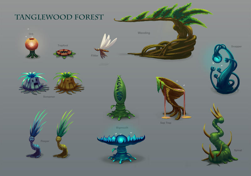 Tanglewood Forest Assets by Devilfactory