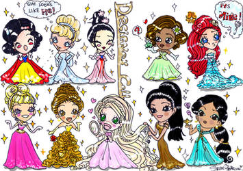 Disney Designer Doll Chibi