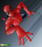 Colab pic of Spiderman