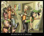 Wanabeez - Backstage