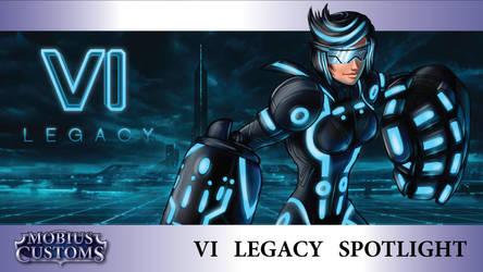 LoL Tron Legacy Vi Custom Skin