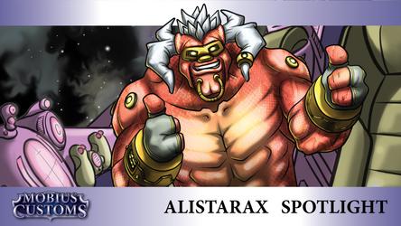 LoL Alien Smuggler Alistar Custom Skin