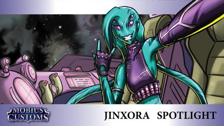 LoL Alien Smuggler Jinx Custom Skin