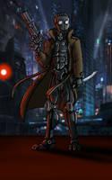 Cyberpunk RPG Character - Fantasma