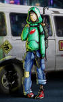 Cyberpunk RPG Character - Madare