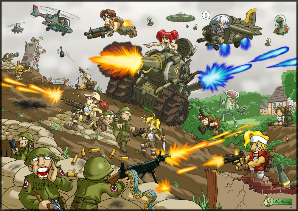 Metal Slug Mayhem by alexsanlyra