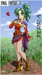 Final Fantasy VI - Terra by alexsanlyra