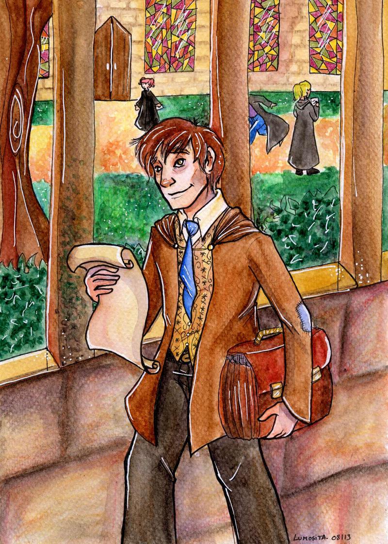 + Professor Lupin + by Lumosita