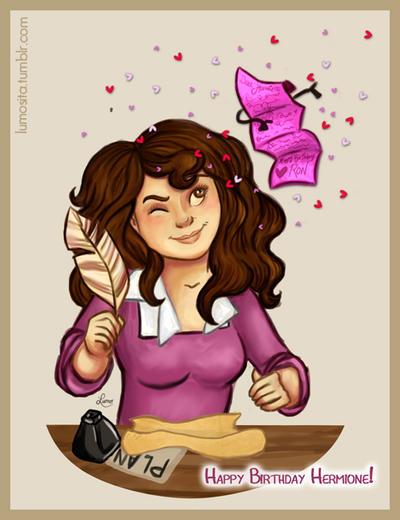 happy birthday hermione by - photo #3