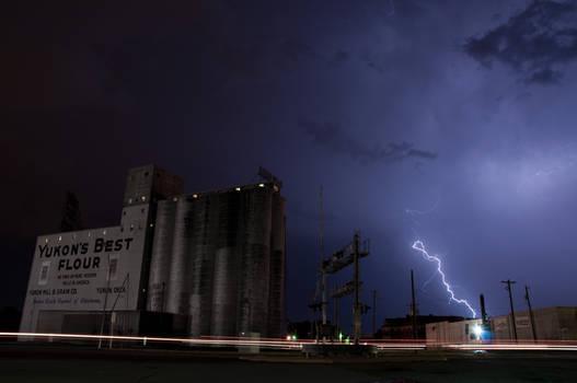 Lightning Over Yukon