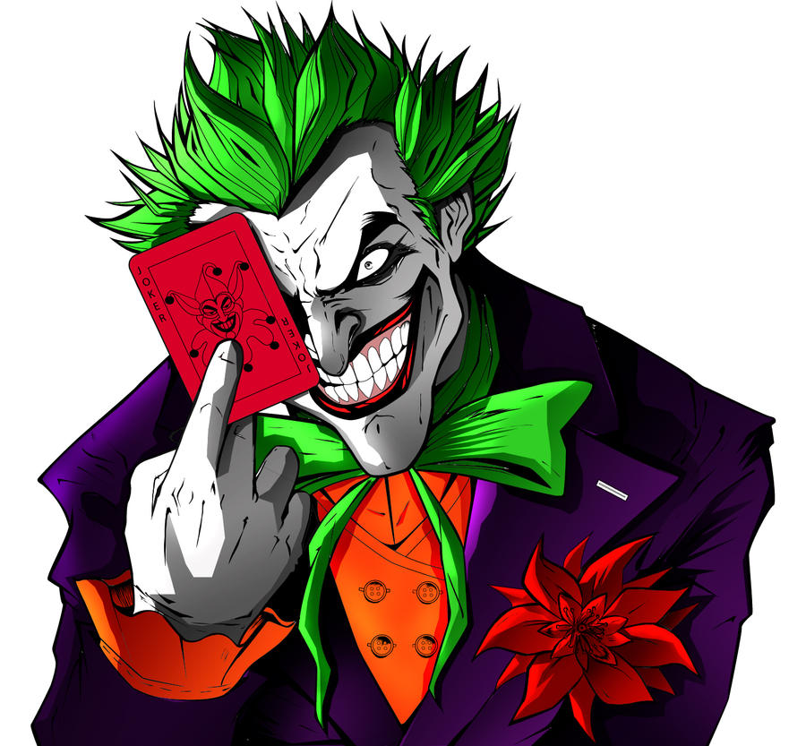 The joker by richrow