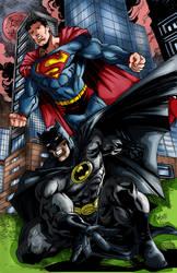 Bruce and clark