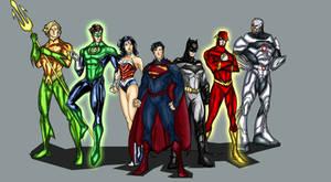 DC New 52 Justice League