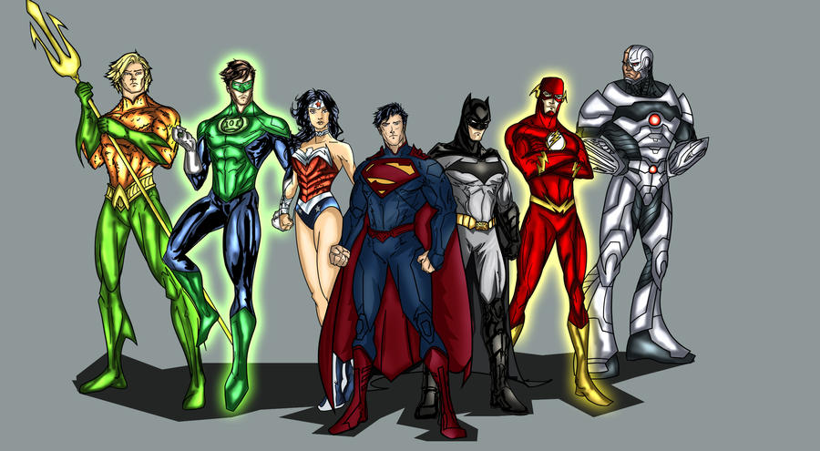 DC New 52 Justice League by richrow