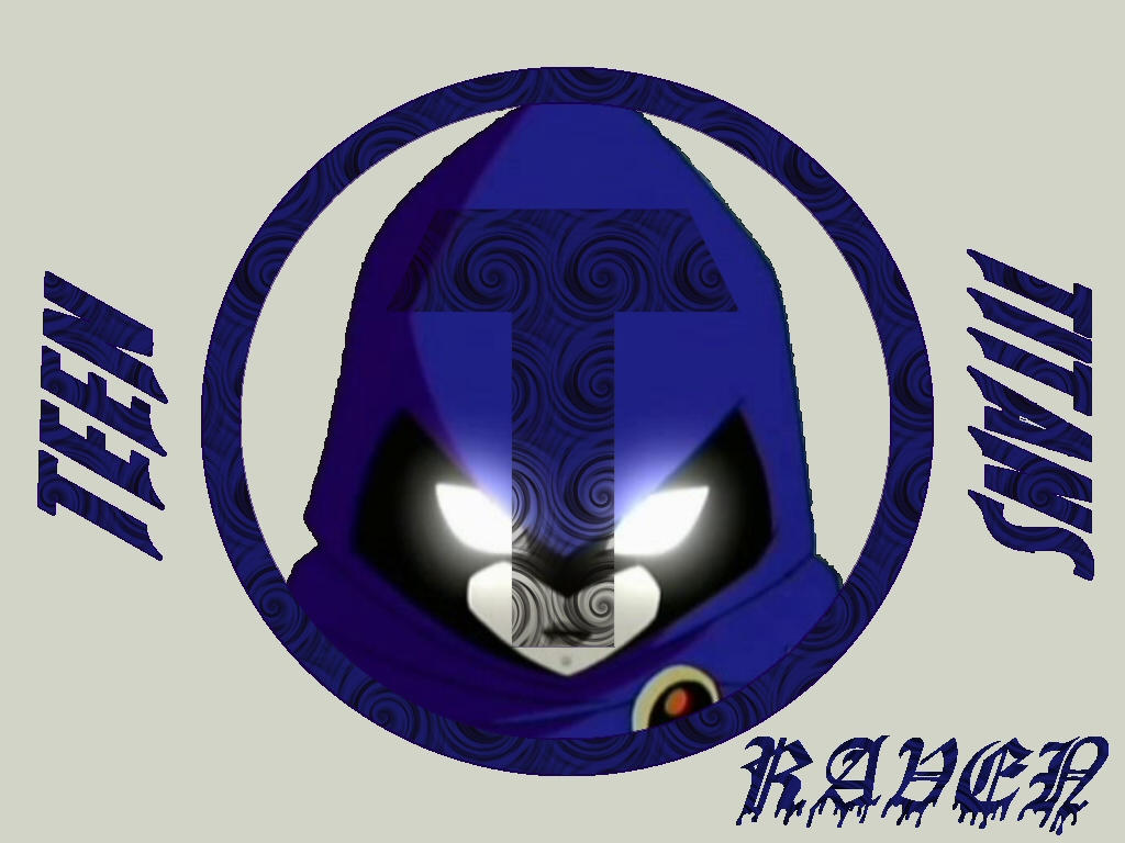 Teen Titan Logo Series: Raven by thedarkreaver
