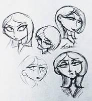 Mirage Pen Sketches at 11 PM by Loza-LaSphinx
