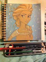 Elsa by DaliteDraws