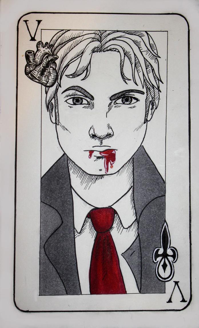 V is for Vampire by Nickicolem