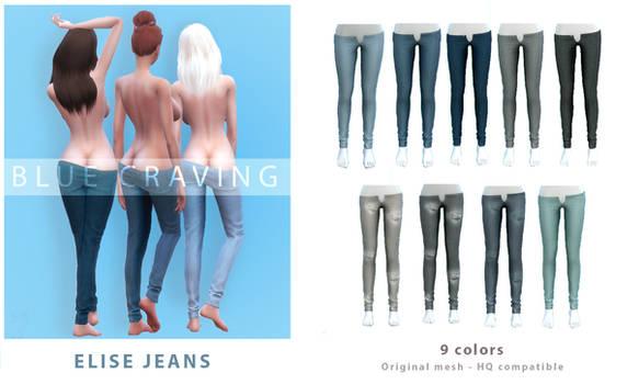 [Blue craving] - Elise Jeans