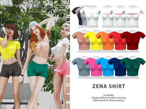 Zena tight shirt - TS4