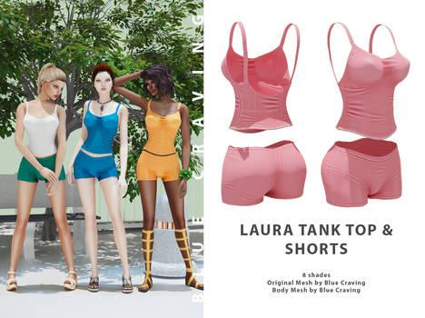 Laura Tank Top  shorts