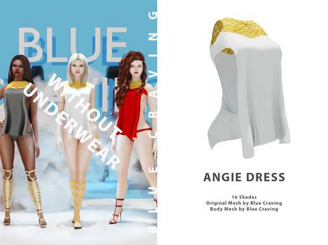 Angie Dress without underwear