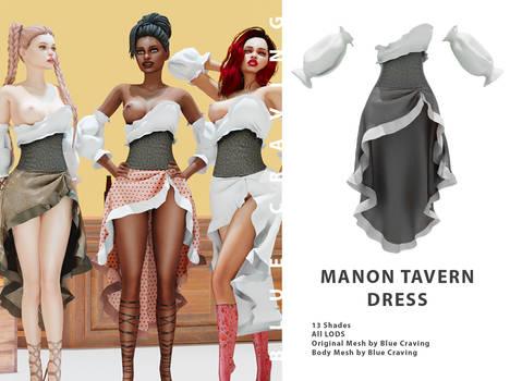 Manon tavern dress uncensored