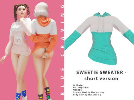 Sweetie Sweater uncensored