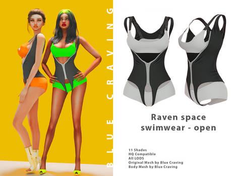 [Blue Craving] Raven swimwear uncensored