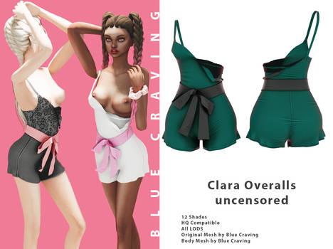 [Blue Craving] Clara overalls uncensored